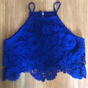 Forever 21 Lace Crop Top